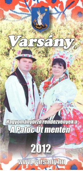 Varsány információs füzet 2012